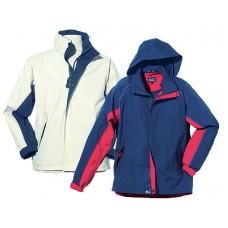 Куртка «Atlantic». Цвет: синий с красным. Размер M