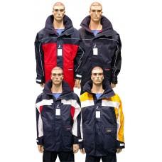 Куртка «Coastal III». Цвет: желтый/синий/белый, размер XXL