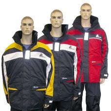 Куртка «Skagen», желтый + темно-синий и белый, размер S