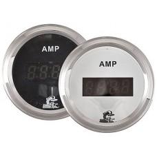 Амперметр, 150A, белый циферблат
