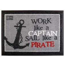 Коврик на нескользящей основе «Pirate», 70x50 см
