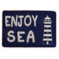 Коврик на нескользящей основе «Enjoy Sea», 68x44 см