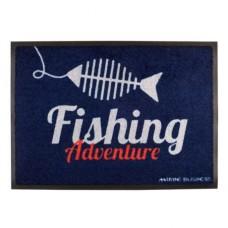Коврик на нескользящей основе «Fishing», 70x50 см