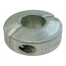 Анод для гребного вала диаметром 20 мм. Толщина: 14 мм.