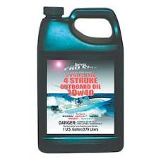 Моторное масло для подвесных и стационарных бензиновых 4-тактных двигателей Pro Star Super Premium Synthetic Blend 10W40