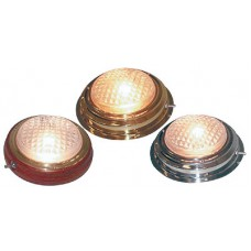 Накладной плафон освещения в корпусе из нержавеющей стали, 3 дюйма