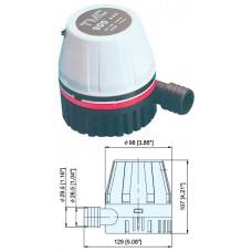 Трюмная помпа «TMC 900», 12 В
