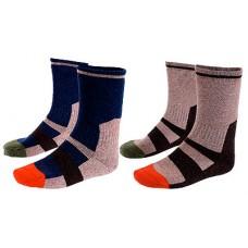 Носки, синий/песочный, размер L