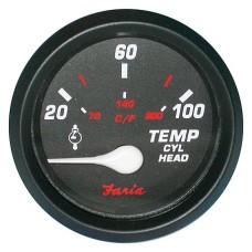 Указатель температуры головки цилиндров, серия Professional red
