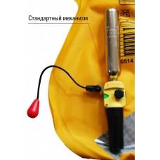 Запасная пластиковая клипса, сигнализирующая об активации ручного наполнения жилета, для автоматических жилетов Besto без индикаторного окошка (или иных жилетов, использующих стандартный механизм автоматического наполнения United Moulder MK5)
