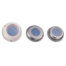Вентилятор на солнечный батареях, низкопрофильный корпус из нержавеющей стали