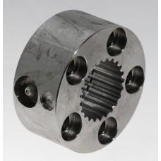 Муфта соединительная стальная  (со шлицевым соединением) для соединения выходного вала трансмиссии и диска ручного тормоза с приводным валом, для моделей до серийного номера 31982 (34-239)