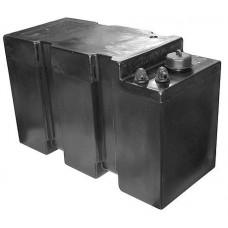 Топливный бак «TITANO Plus», 57 л, 400x650x400 мм