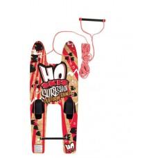 Детские лыжи/платформа Sure Shot Platform Trainer w/Rope.