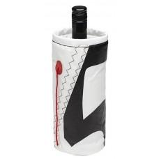 Чехол для бутылок «Wine Cooler», белый-красный