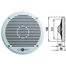 Пара двудиффузорных аудиодинамиков, 80 Вт