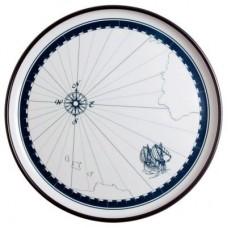 """Большая плоская тарелка """"Columbus"""", круглая, 30 см, 2 шт"""