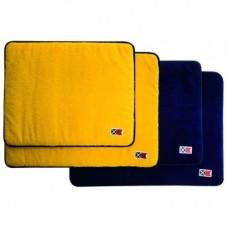 Набор ковриков, 2 белых с красным, 2 темно-синих с белым, 60x45 и 50x40 см