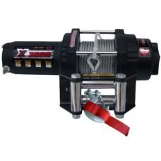 Лебедка электрическая Master Winch 3500 с монтажным набором т и пультом д/у, тяговое усилие 1590 кг, для моделей 6х6
