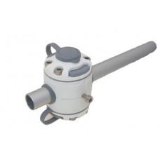 Замки и монтажная площадка для установки на трубу d 22/25 мм FMr225 (белый)