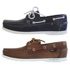"""Туфли яхтенные """"Arkansa"""", коричневый нубук, размер 40"""