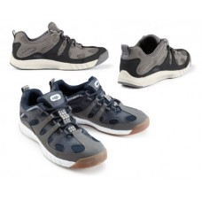 Туфли яхтенные «Deck Grip Profile II», цвет:  светло-серый/карбон, размер 47
