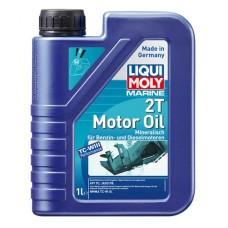 """Минеральное моторое масло """"Liqui Moly"""" для 2-х тактных моторов, 1 л"""