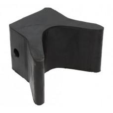 Носовой упор, 75х94х78 мм, черный