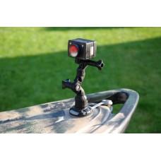 Поворотно-наклонный держатель для установки камеры или портативных навигационных огней Ng002 (серый)