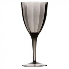 Бокалы для вина, серые, 9х20,5 см, 6 шт