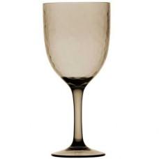 Бокалы для вина, дымчатые 10х20,3 см, 6 шт