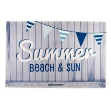 Коврик на нескользящей основе «Summer - beach & sun», 70x50 см